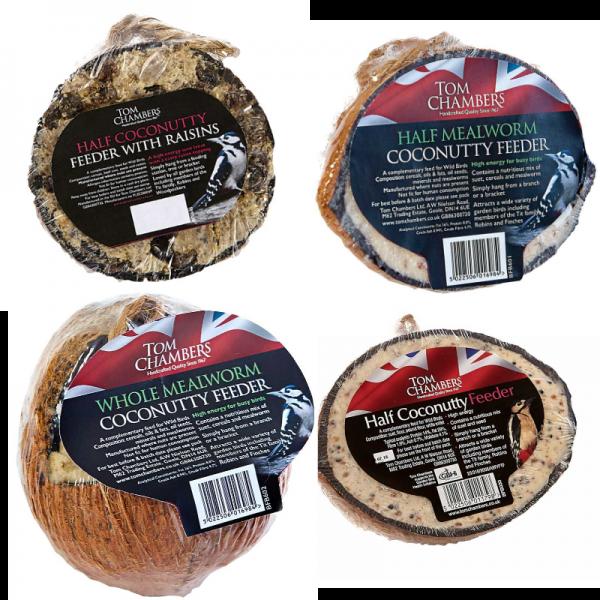 Coconut - Half - Mealworm
