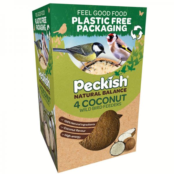 Peckish Natural Balance Coconut Feeder