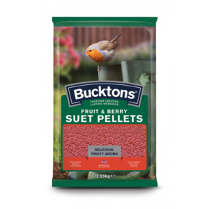 Bucktons Fruit & Berry Suet Pellets