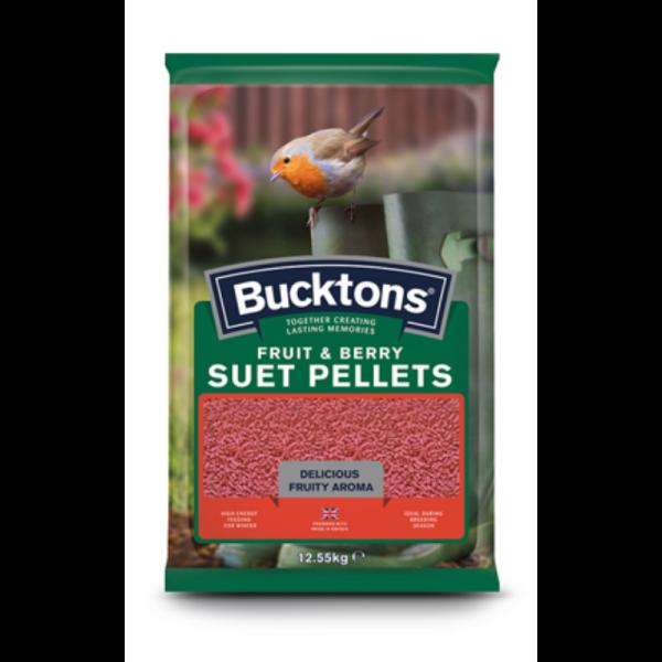 Bucktons Fruit & Berry Suet Pellets