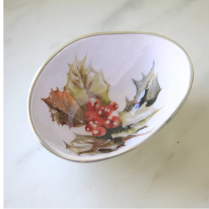 Holly Oval Bowl Small