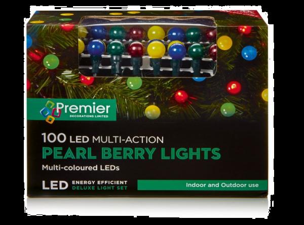 Multi-coloured Pearl Lights