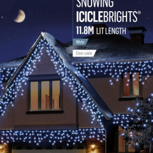 Snowing Icicles Lights 480 WAS £54.99 NOW £49.99