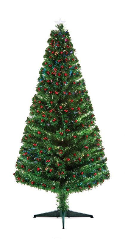 Fibre Optic Christmas Tree - Berries