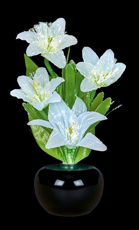Fibre Optic Flowers Lillies Light Display