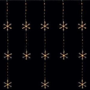 LED Curtain - Snowflake Light