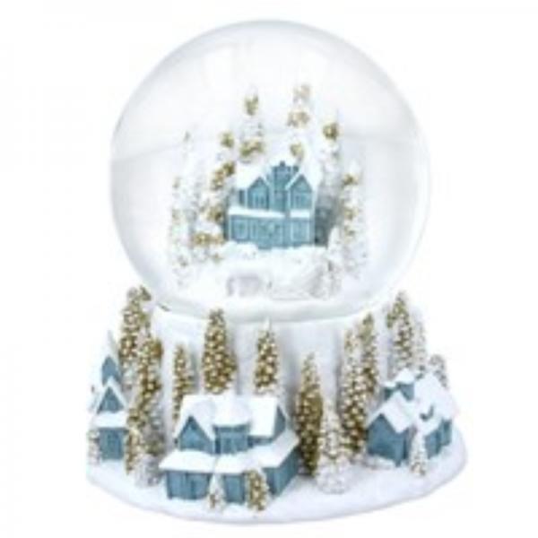Christmas Village Dome by Gisela Graham