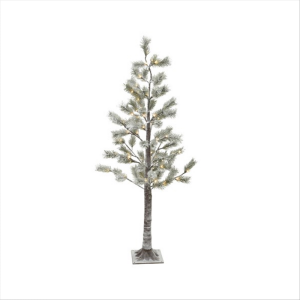 LED Snowy Pine Tree