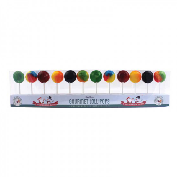 12 days of Christmas Lollies Juicy Fruit Selection