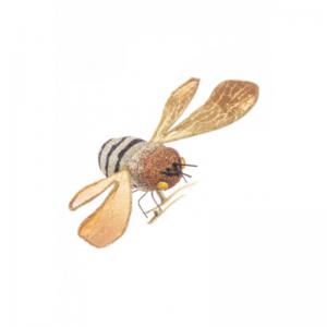 Glitter Bee Clip
