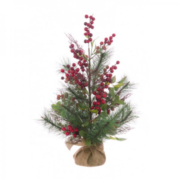 Berry Pine Twig Tree