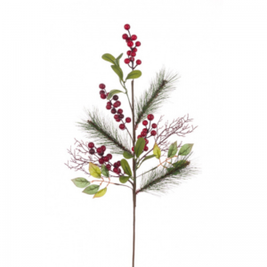 Berry Pine Twig Spray