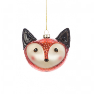 Fox Head Tree Decoration