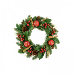 Christmas Lodge Wreath
