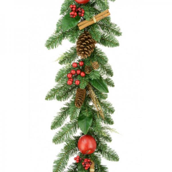 Christmas Lodge Garland