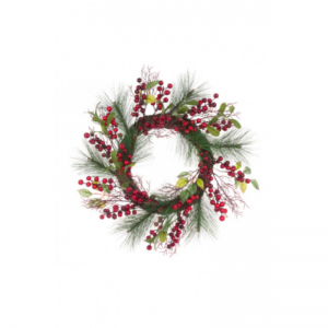 Berry Pine Twig Wreath
