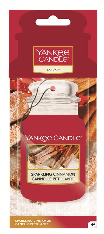 Single Car Jar Yankee Candle Spakling Cinnamon
