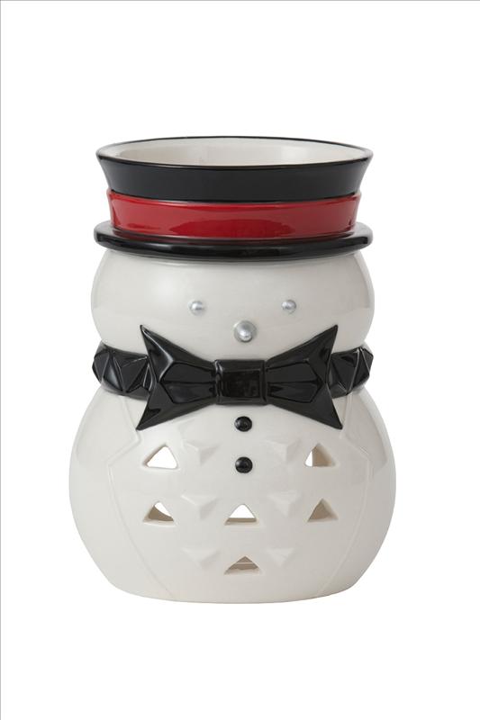 Jackson Frost Snowman Tealight Luminary