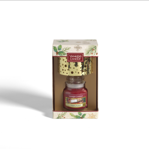 Small Jar Candle & Shade Gift Set
