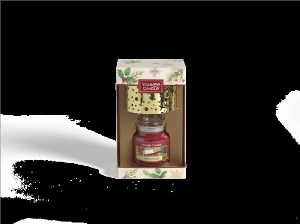 Small Jar Candle & Shade Gift Set