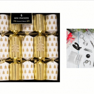 Mini Gold Tree Crackers 6