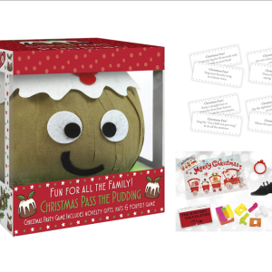 Pass The Parcel Pudding Cracker Game