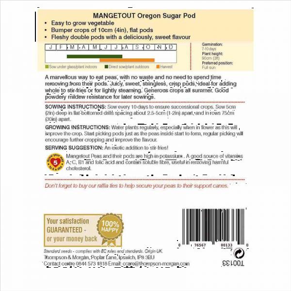 Mangetout Oregon Sugar Pod