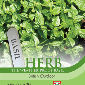 Herb Basil British Outdoor