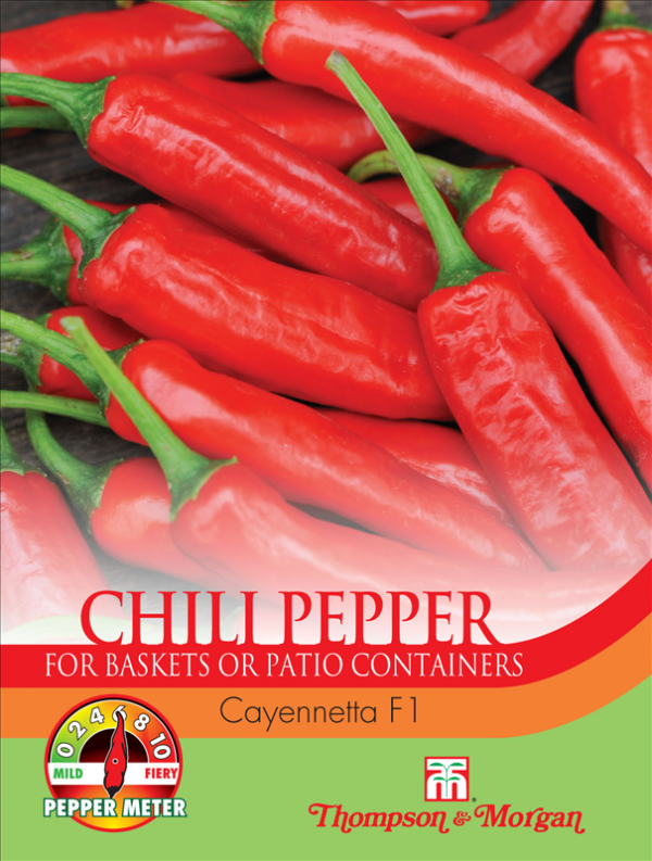 Pepper Chilli Cayennetta