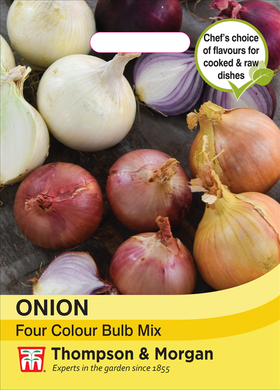 Onion Four Colour Bulb Mix