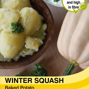 Squash Baked Potato
