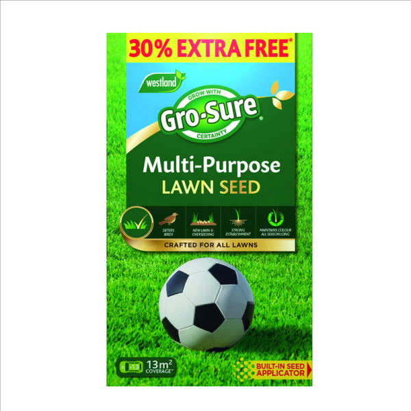 Gro-sure Multi Purpose Lawn Seed +30%