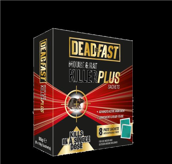 Deadfast Mouse and Rat Killer Plus 8 Sachets