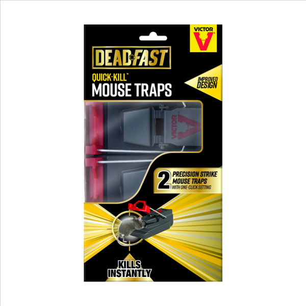 Deadfast Quick Kill Mouse Twin