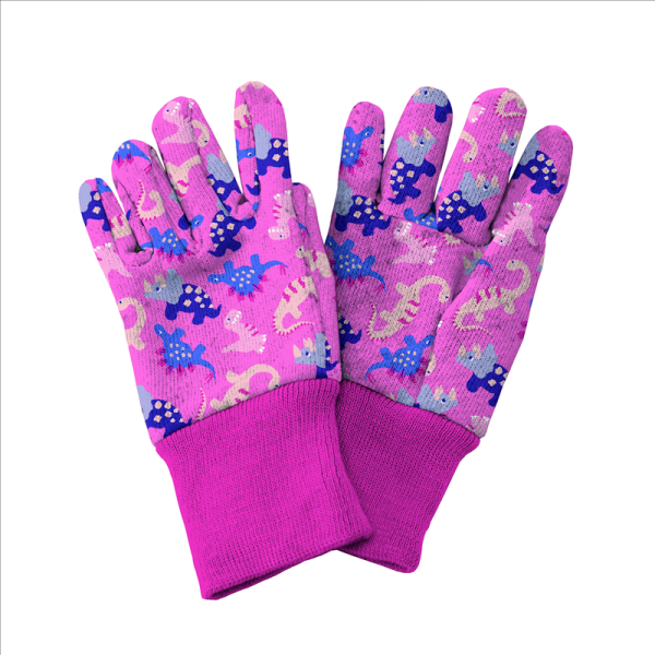 Dinosaur Gloves Pink