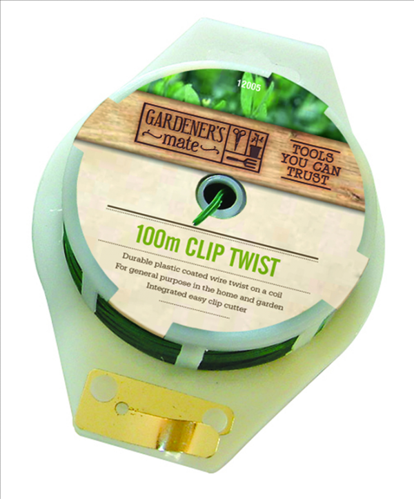 100m Twisty Wire & Cutter