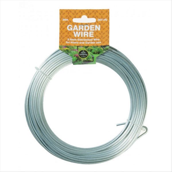 20m Garden Wire 2.5mm Galvanised