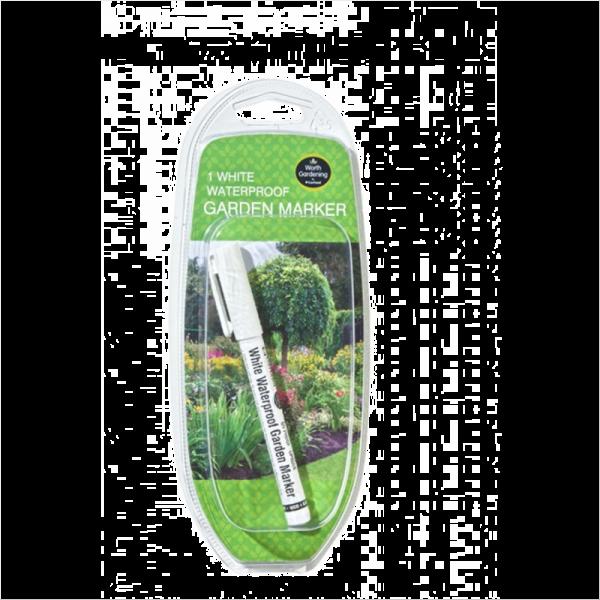 White Waterproof Garden Marker (1)