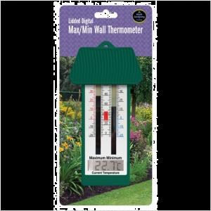 Lidded Digital Max/Min Wall Thermometer