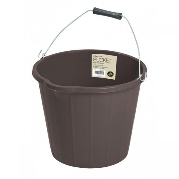 Bucket Anthracite 3 Gallon