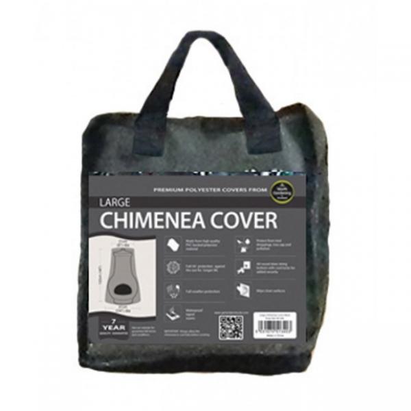 Large Chimenea Cover, Black