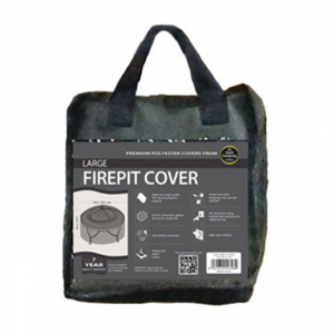 Large Firepit Cover, Black