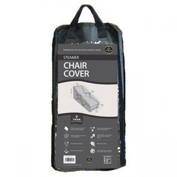 Steamer Chair Cover, Black