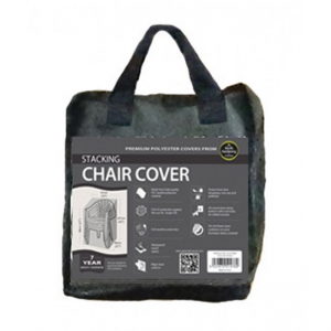 Stacking Chair Cover, Black
