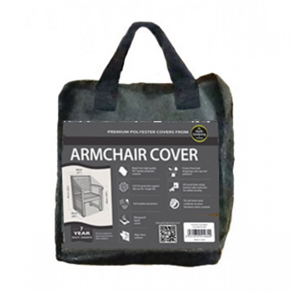 Armchair Cover, Black