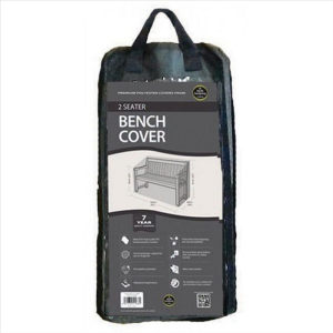 2 Seater Bench Cover, Black