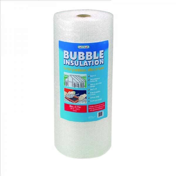 30m x 0.75m Bubble Insulation inc Clips