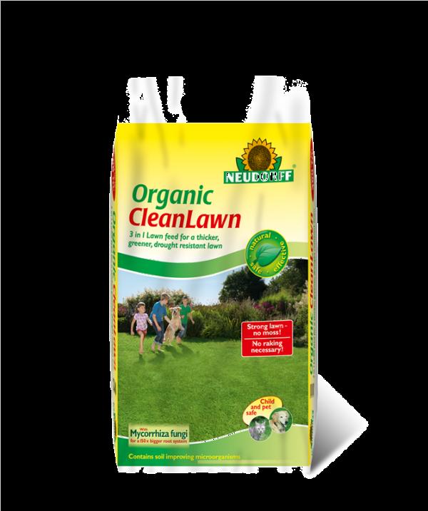 Organic Cleanlawn 8kg Bag