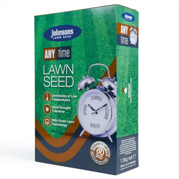 Anytime Lawn Seed 1.5kg