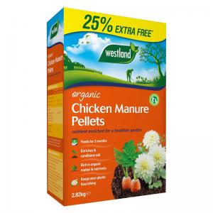 Organic Chicken Manure Pellets 2.25kg + 25%